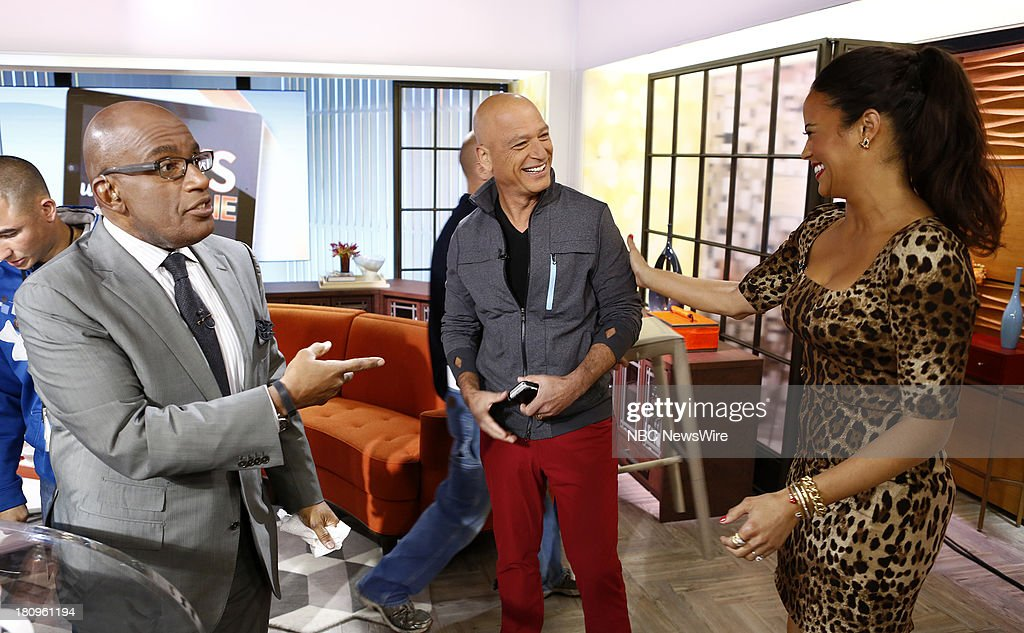 Al Roker, Howie Mandel and Paula Patton appear on NBC News' 'Today' show --