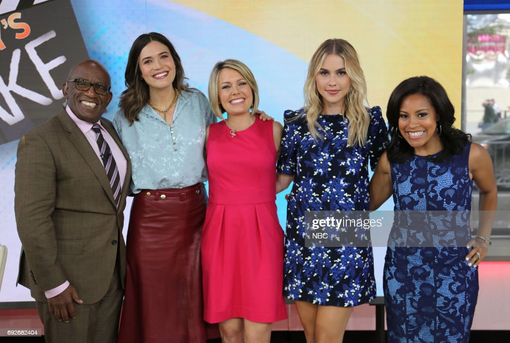 "NBC's ""Today"" With guests Mandy Moore, Claire Holt, Luke Combs, Armie Hammer"
