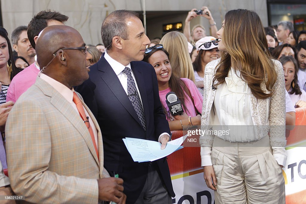 Al Roker Matt Lauer Jessica Biel NBC News' Matt Lauer and Al Roker speak with Jessica Biel about 'The ATeam'