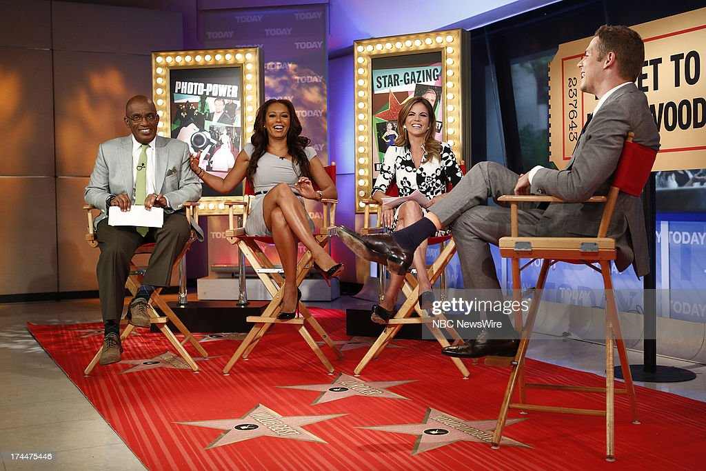Al Roker, Mel B, Natalie Morales and Jason Kennedy appear on NBC News' 'Today' show --