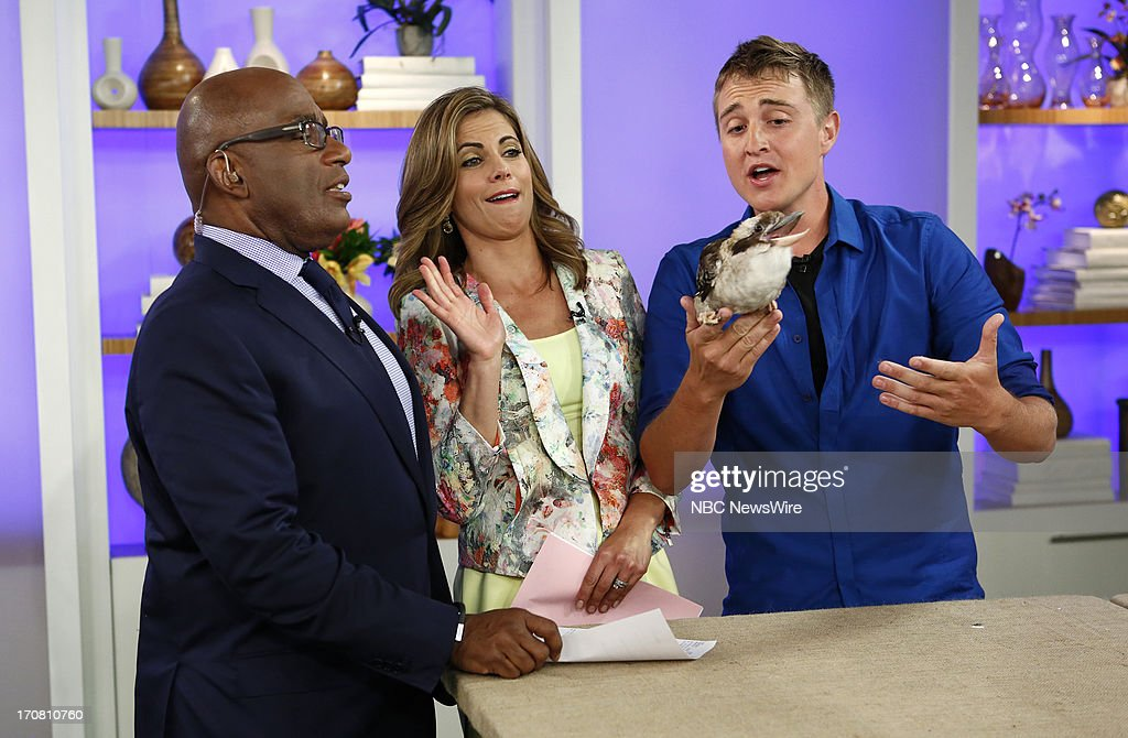 Al Roker, Natalie Morales and Corbin Maxey appear on NBC News' 'Today' show --