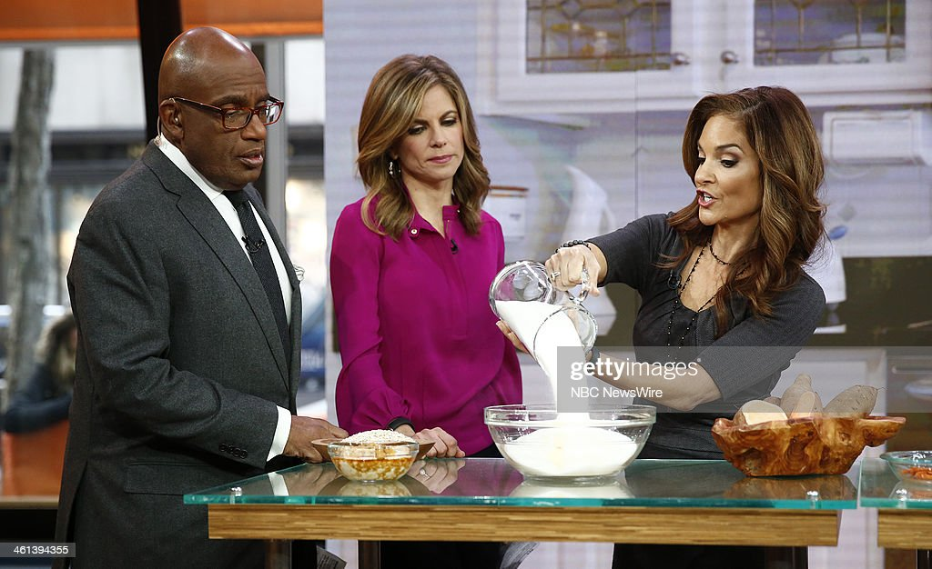 Al Roker, Natalie Morales and Joy Bauer appear on NBC News' 'Today' show --