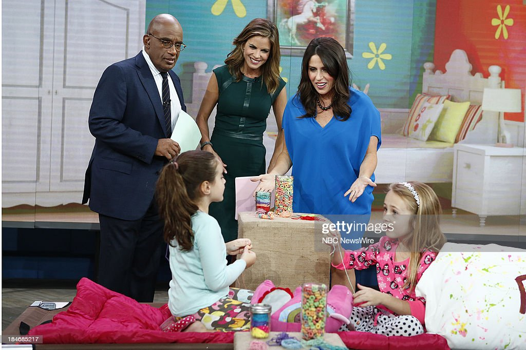 Al Roker, Natalie Morales and Soleil Moon Frye appear on NBC News' 'Today' show --