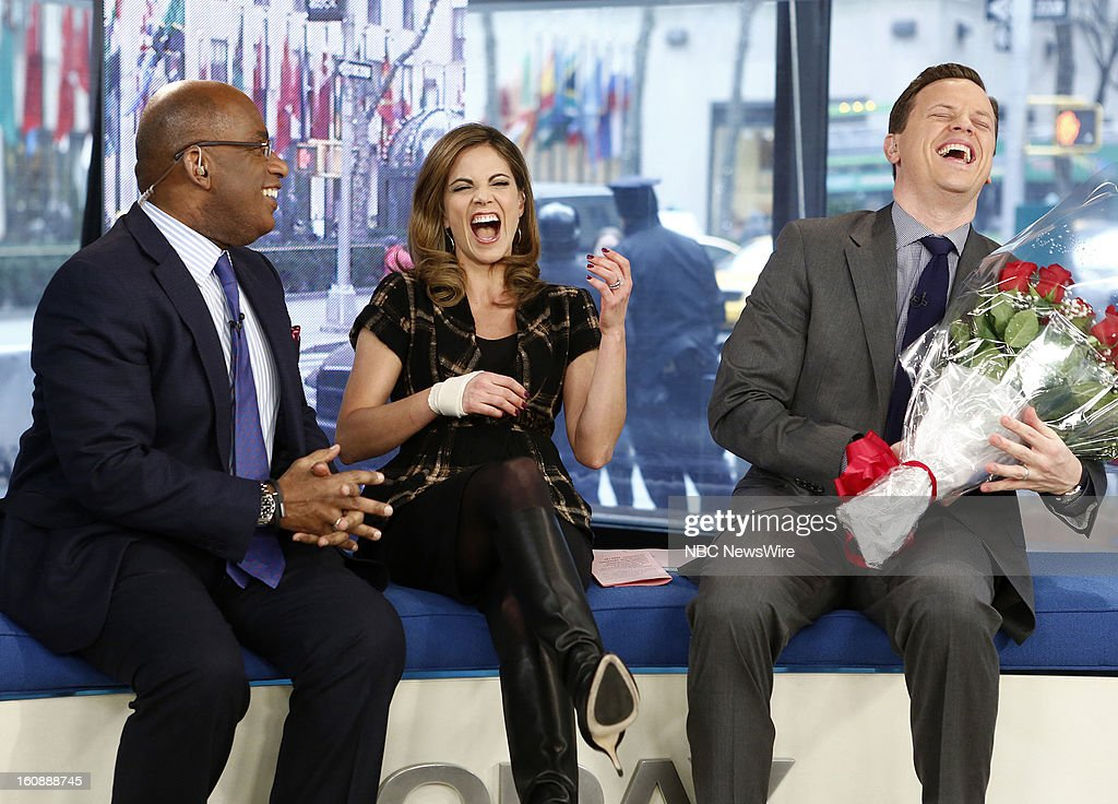 Al Roker, Natalie Morales and Willie Geist appear on NBC News' 'Today' show --
