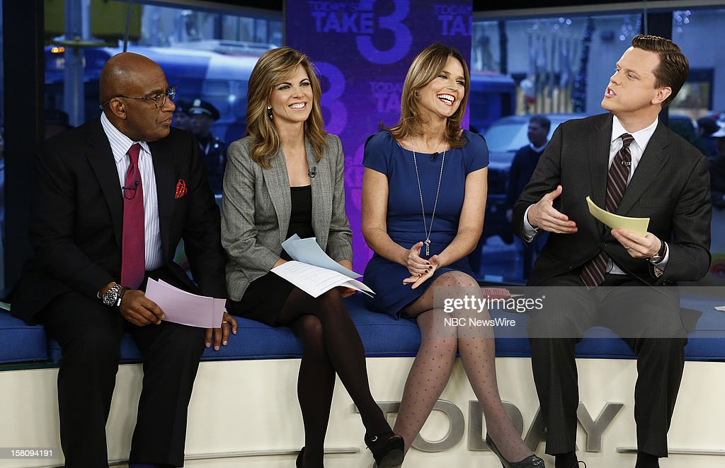 Al Roker, Natalie Morales, Savannah Guthrie and Willie Geist appear on NBC News' 'Today' show --
