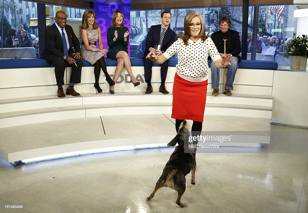 Al Roker, Natalie Morales, Savannah Guthrie, Willie Geist, Meredith Vieira and Richard Cohen appear on NBC News' 'Today' show --