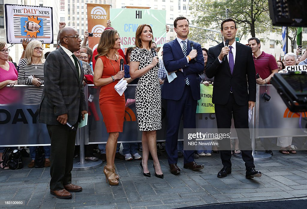 <a gi-track='captionPersonalityLinkClicked' href=/galleries/search?phrase=Al+Roker&family=editorial&specificpeople=206153 ng-click='$event.stopPropagation()'>Al Roker</a>, <a gi-track='captionPersonalityLinkClicked' href=/galleries/search?phrase=Natalie+Morales+-+News+Anchor&family=editorial&specificpeople=710956 ng-click='$event.stopPropagation()'>Natalie Morales</a>, <a gi-track='captionPersonalityLinkClicked' href=/galleries/search?phrase=Savannah+Guthrie&family=editorial&specificpeople=653313 ng-click='$event.stopPropagation()'>Savannah Guthrie</a>, Willie Geist and <a gi-track='captionPersonalityLinkClicked' href=/galleries/search?phrase=Carson+Daly&family=editorial&specificpeople=202941 ng-click='$event.stopPropagation()'>Carson Daly</a> appear on NBC News' 'Today' show --