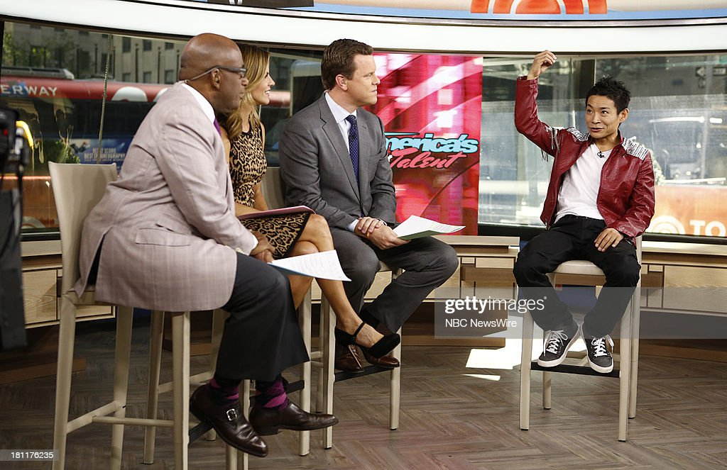 Al Roker, Natalie Morales, Willie Geist and Kenichi Ebina appear on NBC News' 'Today' show --