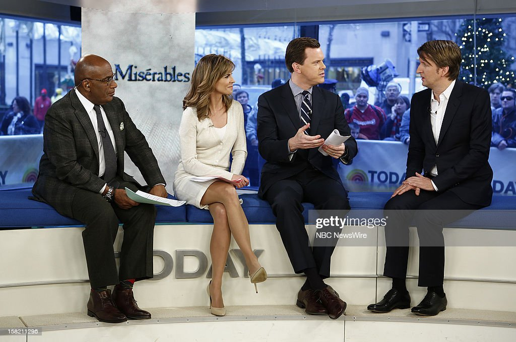 Al Roker, Natalie Morales, Willie Geist and Tom Hooper appear on NBC News' 'Today' show --