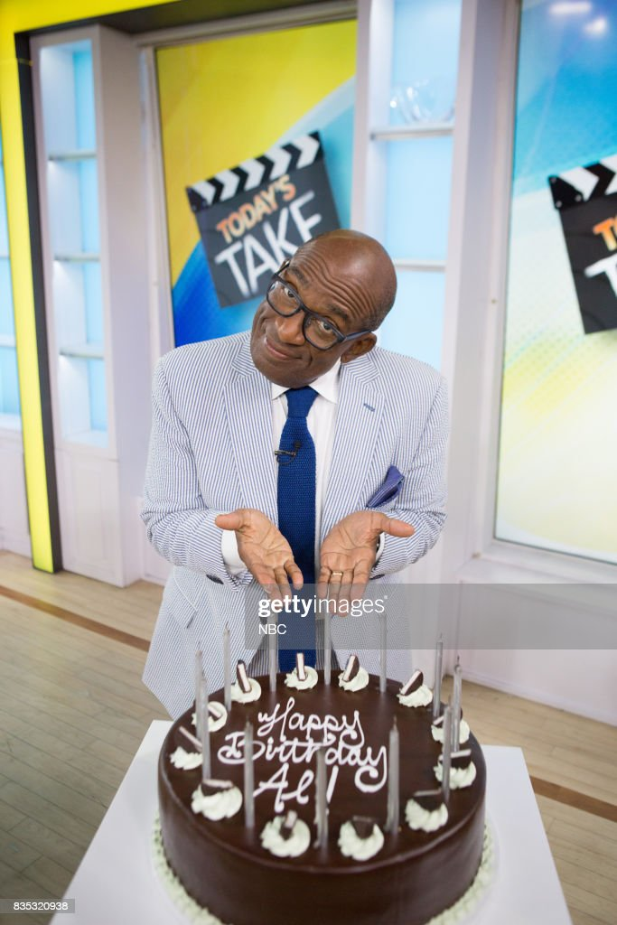 Al Roker on Friday, August 18, 2017 --