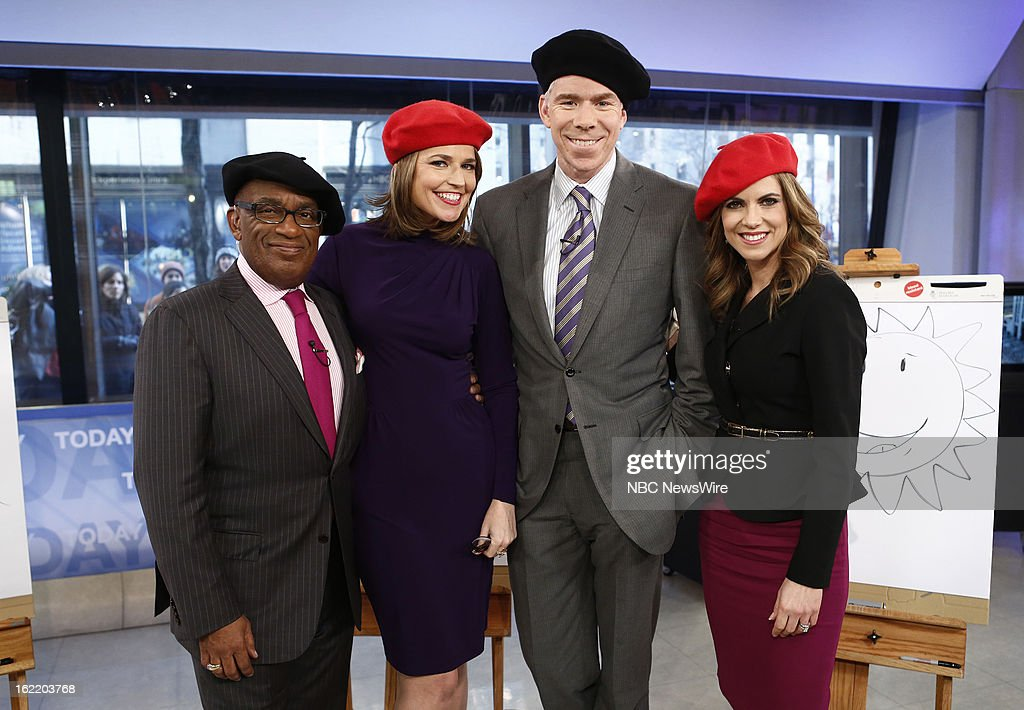Al Roker, Savannah Guthrie, David Gregory and Natalie Morales appear on NBC News' 'Today' show --