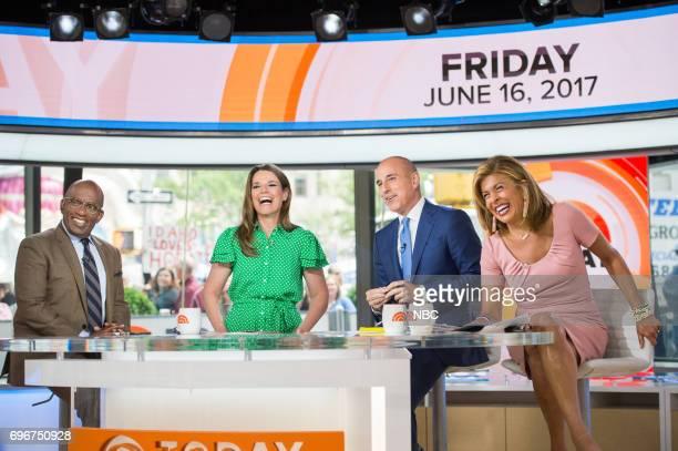 Al Roker Savannah Guthrie Matt Lauer and Hoda Kotb on Friday June 16 2017