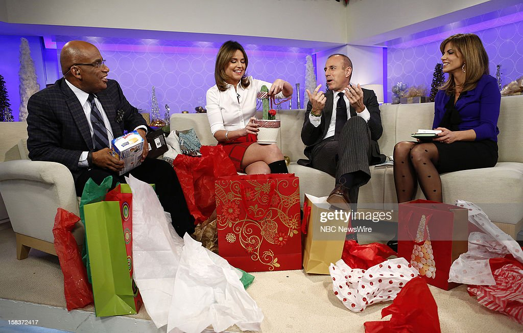 Al Roker, Savannah Guthrie, Matt Lauer and Natalie Morales appear on NBC News' 'Today' show --