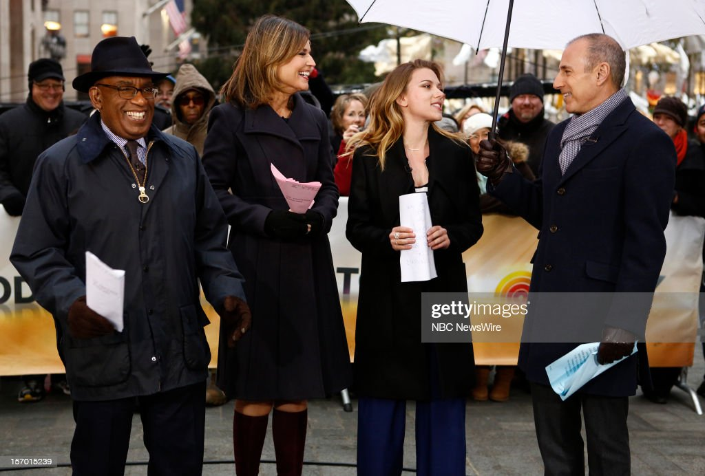 <a gi-track='captionPersonalityLinkClicked' href=/galleries/search?phrase=Al+Roker&family=editorial&specificpeople=206153 ng-click='$event.stopPropagation()'>Al Roker</a>, <a gi-track='captionPersonalityLinkClicked' href=/galleries/search?phrase=Savannah+Guthrie&family=editorial&specificpeople=653313 ng-click='$event.stopPropagation()'>Savannah Guthrie</a>, <a gi-track='captionPersonalityLinkClicked' href=/galleries/search?phrase=Scarlett+Johansson&family=editorial&specificpeople=171858 ng-click='$event.stopPropagation()'>Scarlett Johansson</a> and <a gi-track='captionPersonalityLinkClicked' href=/galleries/search?phrase=Matt+Lauer&family=editorial&specificpeople=206146 ng-click='$event.stopPropagation()'>Matt Lauer</a> appear on NBC News' 'Today' show --
