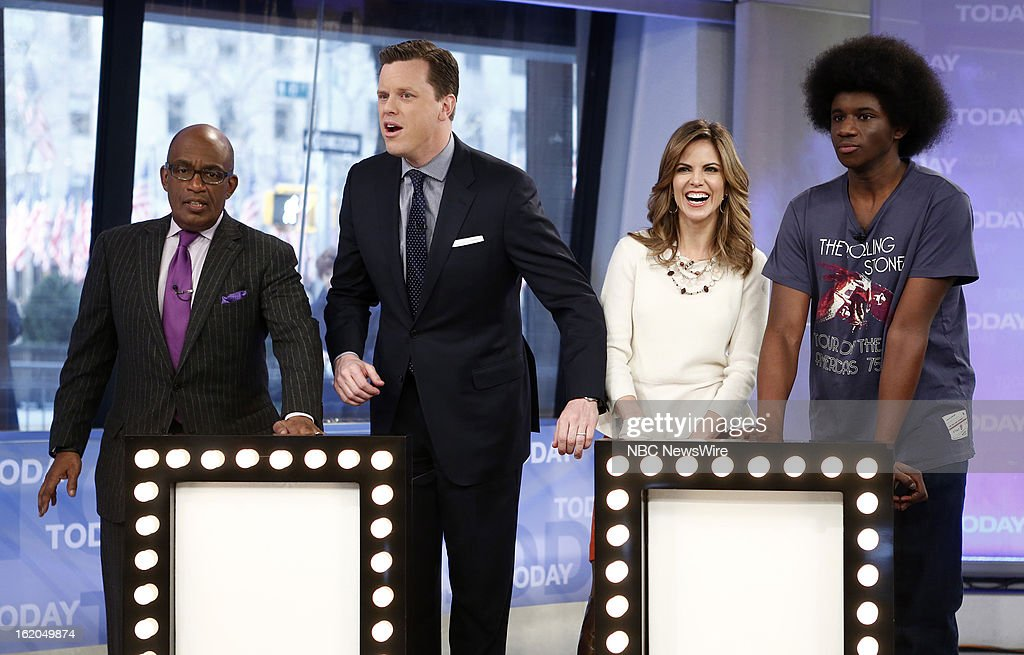 Al Roker, Willie Geist, Natalie Morales and Leonard Cooper appear on NBC News' 'Today' show --