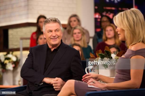 Alec Baldwin and Megyn Kelly on Thursday December 7 2017