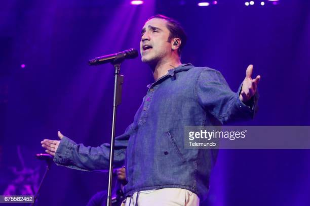 Alejandro Fernandez performs during rehearsals at the Watsco Center in the University of Miami Coral Gables Florida on April 26 2017