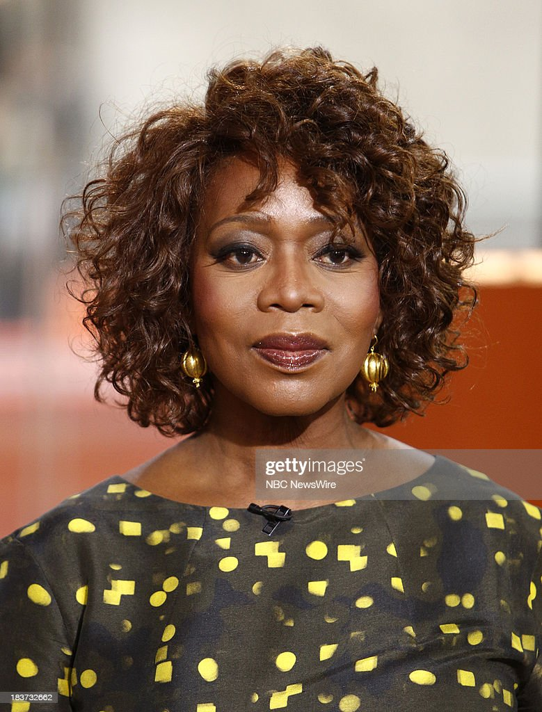 Alfre Woodard appears on NBC News' 'Today' show --