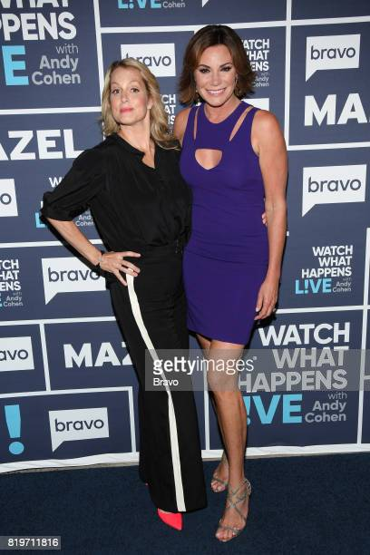 Ali Wentworth and Luann D'Agostino