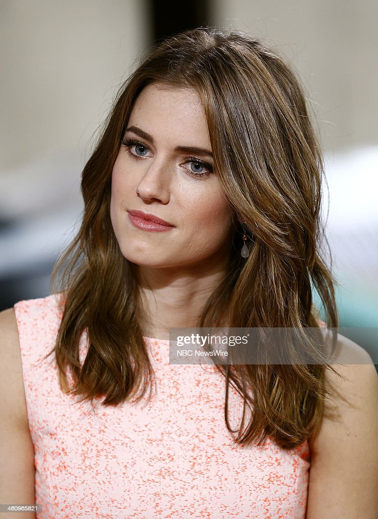 Allison Williams appears on NBC News' 'Today' show --