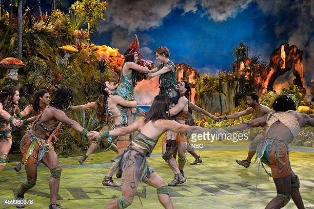 Allison Williams as Peter Pan Alanna Saunders as Tiger Lily