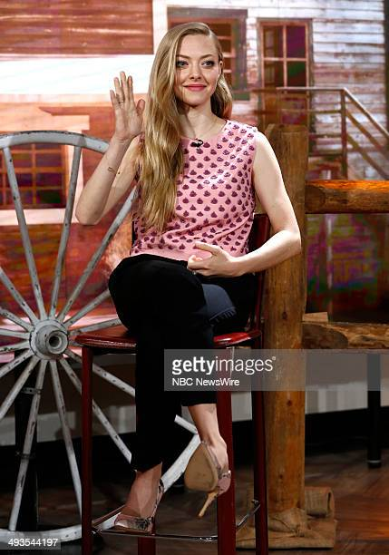 Amanda Seyfried appears on NBC News' 'Today' show