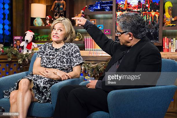 Amy Sedaris and Deepak Chopra