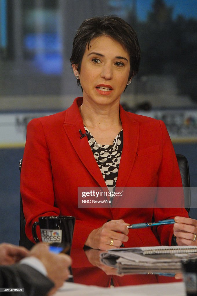 Amy Walter, National Editor, The Cook Political Report, appears on 'Meet the Press' in Washington, D.C., Sunday, July 20, 2014.