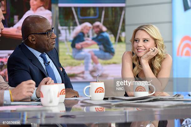 Anchor Al Roker with Kate McKinnon on Monday September 26 2016