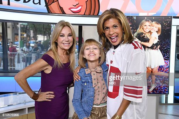 Anchor Kathie Lee Gifford Grace VanderWaal and Anchor Hoda Kotb on Monday September 26 2016