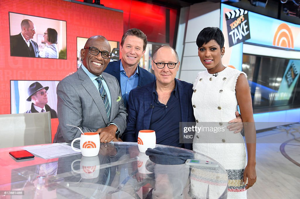Anchors Al Roker and Billy Bush, James Spader and Anchor Tamron Hall on Thursday, September 22, 2016 --