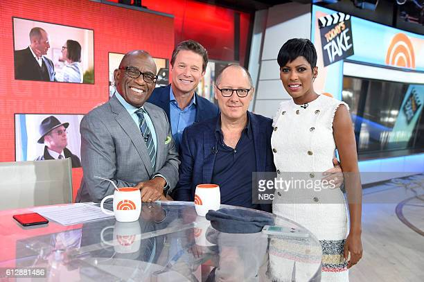 Anchors Al Roker and Billy Bush James Spader and Anchor Tamron Hall on Thursday September 22 2016