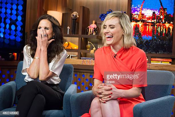 Andie MacDowell and Taylor Schilling