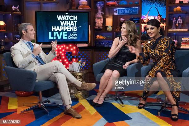 Andy Cohen Amy Brenneman and Priyanka Chopra