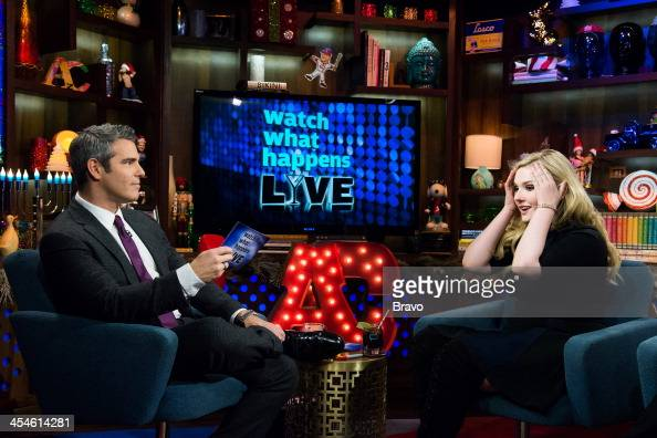 Andy Cohen and Abigail Breslin Photo by Charles Sykes/Bravo/NBCU Photo Bank via Getty Images