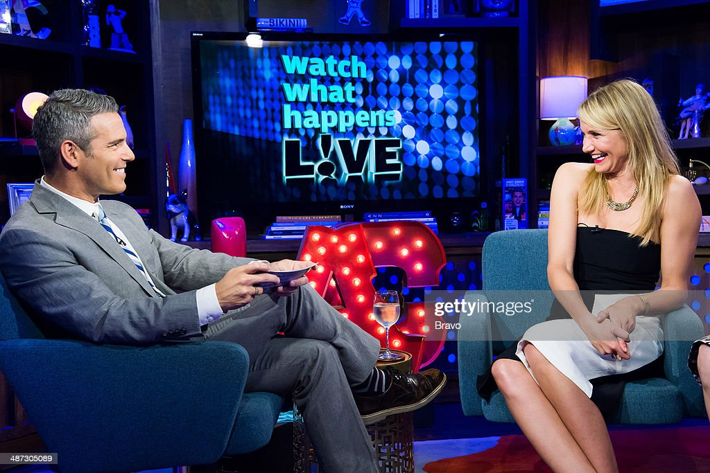 Andy Cohen and Cameron Diaz --