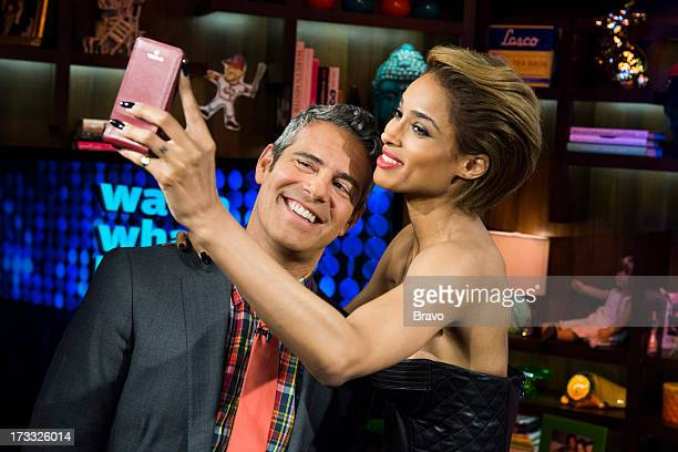 Andy Cohen and Ciara Photo by Charles Sykes/Bravo/NBCU Photo Bank via Getty Images