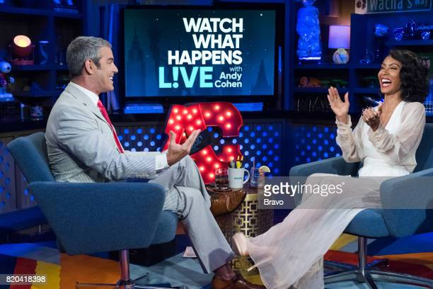 Andy Cohen and Jada Pinkett Smith