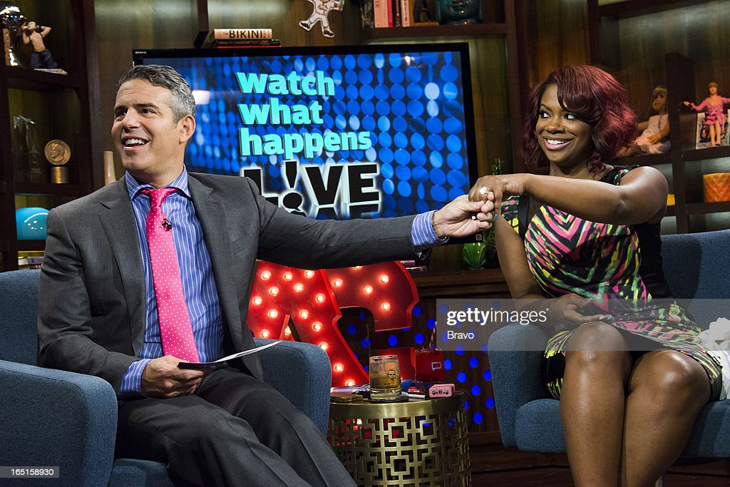 Andy Cohen and Kandi Burruss -- Photo by: Charles Sykes/Bravo/NBCU Photo Bank via Getty Images