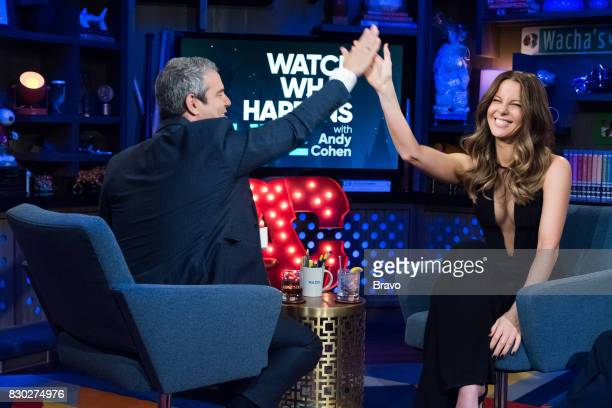 Andy Cohen and Kate Beckinsale
