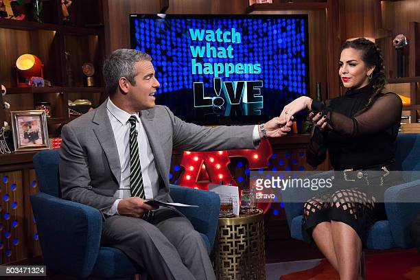 Andy Cohen and Katie Maloney