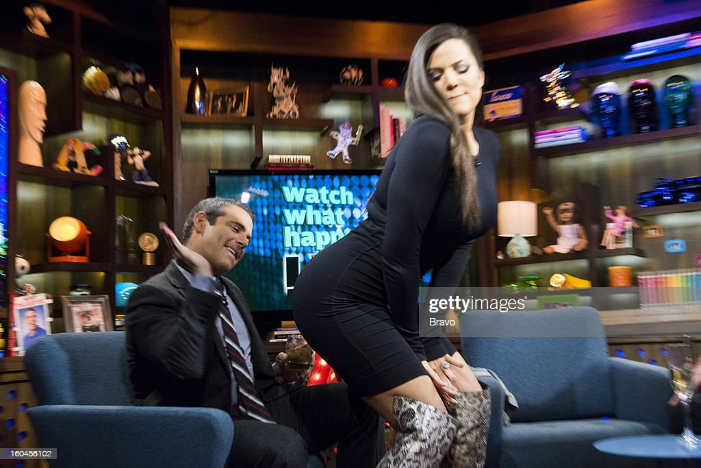 Andy Cohen and Khloe Kardashian -- Photo by: Charles Sykes/Bravo/NBCU Photo Bank via Getty Images