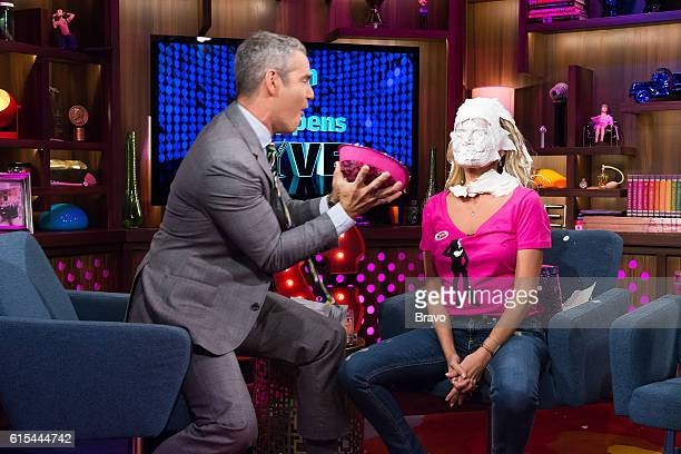 Andy Cohen and Kristin Chenoweth