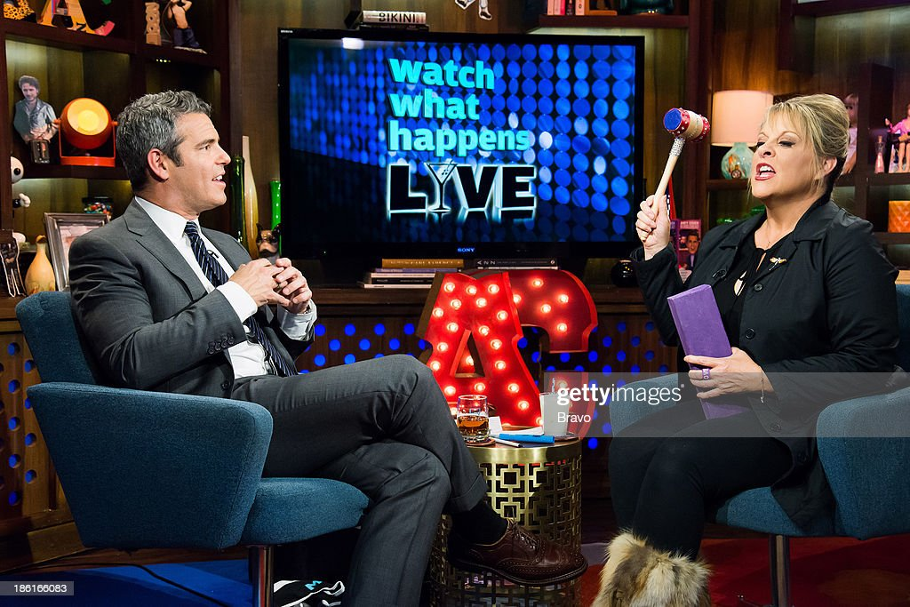 Andy Cohen and Nancy Grace -- Photo by: Charles Sykes/Bravo/NBCU Photo Bank via Getty Images