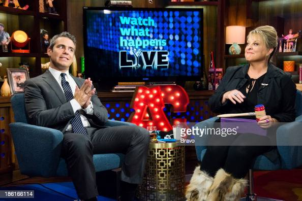 Andy Cohen and Nancy Grace Photo by Charles Sykes/Bravo/NBCU Photo Bank via Getty Images