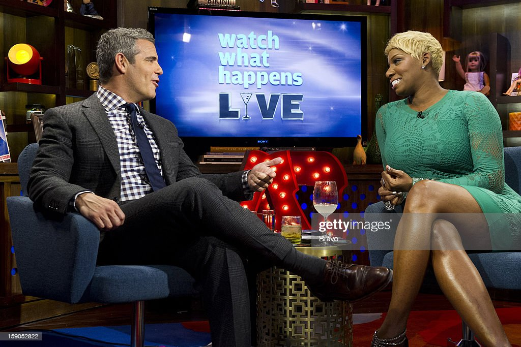 Andy Cohen and NeNe Leakes -- Photo by: Charles Sykes/Bravo/NBCU Photo Bank via Getty Images