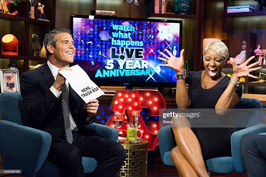 Andy Cohen and NeNe Leakes --