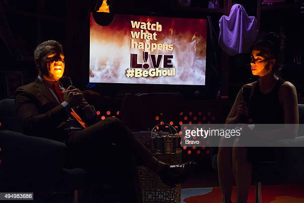 Andy Cohen and Sarah Silverman