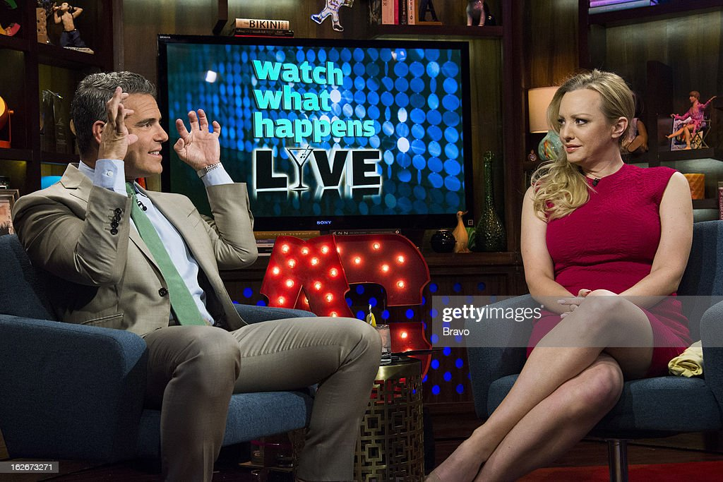 Andy Cohen and Wendi McLendon-Covey -- Photo by: Charles Sykes/Bravo/NBCU Photo Bank via Getty Images