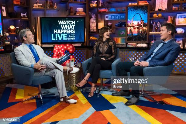 Andy Cohen Bethenny Frankel and Jeff Lewis